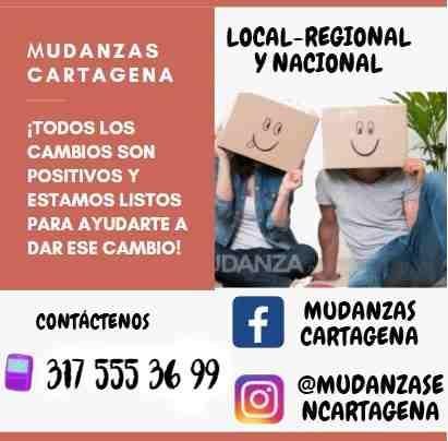 Mudanzas en Cartagena linea de contacto